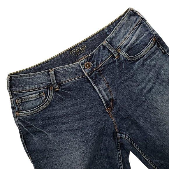 Silver Jeans Women's Suki Bootcut Mid Rise Size 32